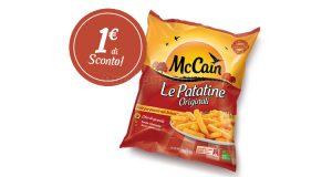 patatine originali McCain buono sconto