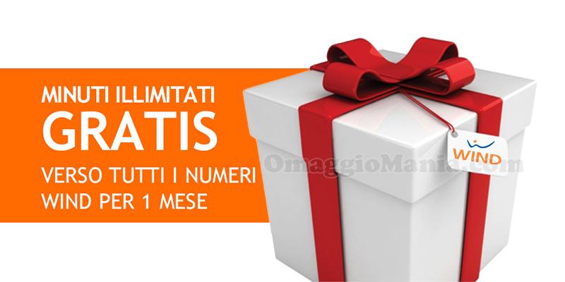 regalo Wind Natale 2016 minuti illimitati gratis