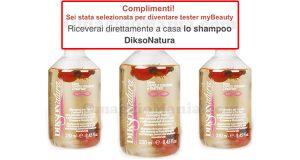 selezione tester shampoo DiksoNatura