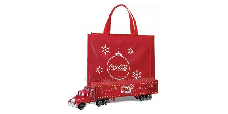 shopper e camioncino Coca Cola