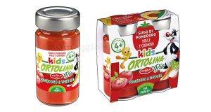 sugo di pomodoro e verdure Ortolina Kids