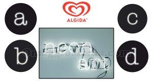 vinci kit lettere luminose Seletti con Algida