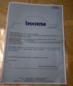 vincita Leocrema Renzo