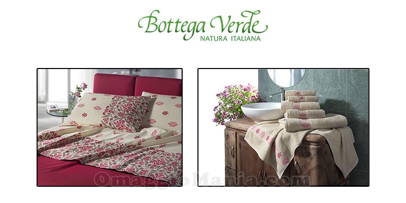 visita premiata Bottega Verde parure e set jacquard dicembre 2016