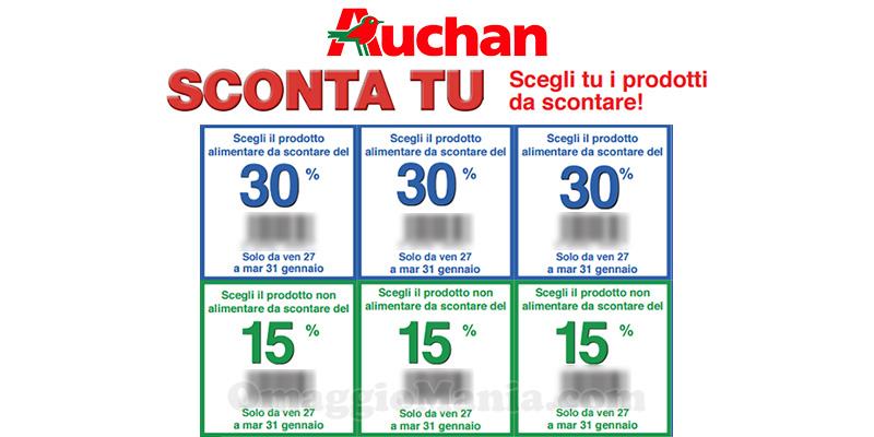 Auchan Sconta tu gennaio 2017