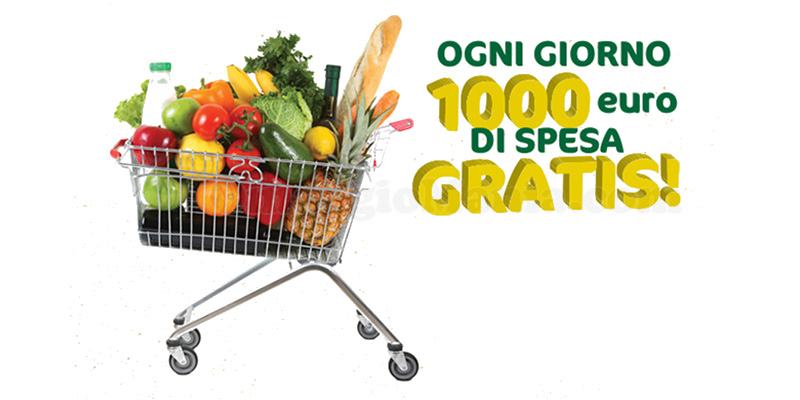 CRAI vinci 1000 euro di spesa gratis