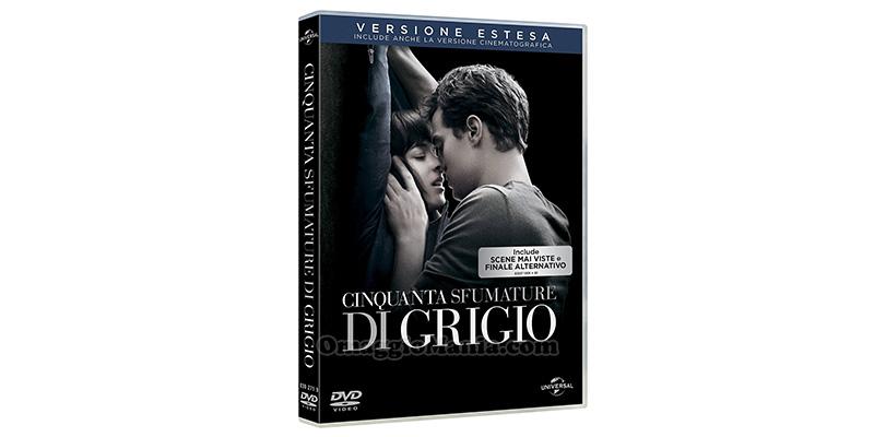 DVD Cinquanta Sfumature di Grigio versione estesa