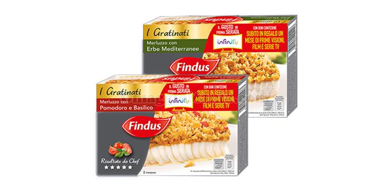 Findus I Gratinati Il gusto in prima serata Infinity