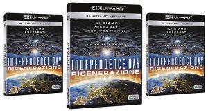 Indipendence Day Rigenerazione 4K Ultrahd blu-ray