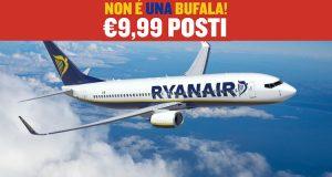 Ryanair speciale insediamento Trump