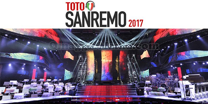 TotoSanremo 2017 Radio Italia