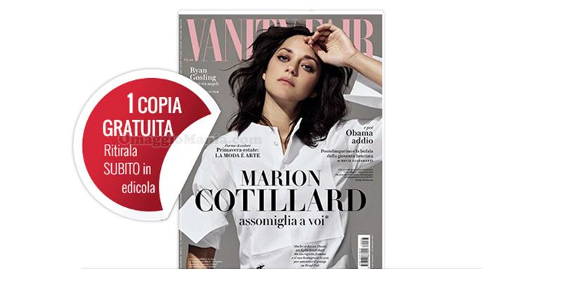 Vanity Fair copia omaggio 3 del 2017