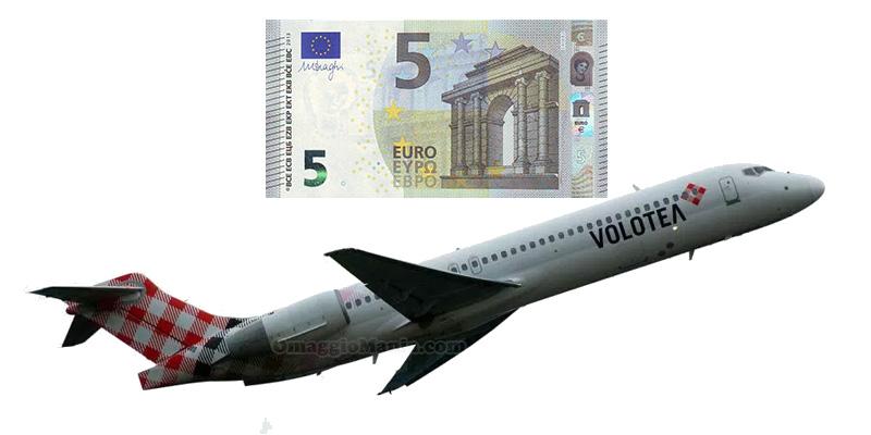 Volotea voli a 5 euro