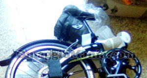 bicicletta pieghevole MINI vinta da Morad 1