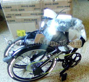 bicicletta pieghevole MINI vinta da Morad 2