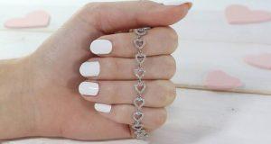 braccialetto in argento JewelCandle