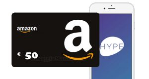 buono Amazon 50 euro Hype