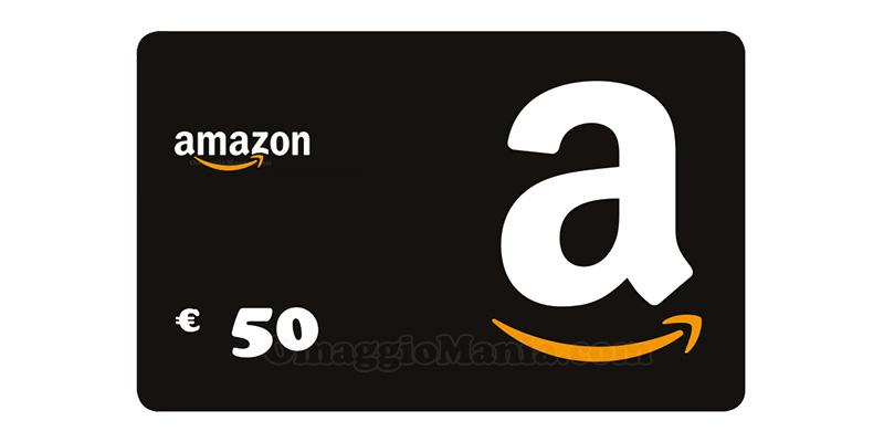 buono Amazon 50 euro
