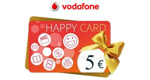 buono IBS Happy Card 5 euro Vodafone