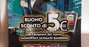 buono sconto Monopoly Ultimate Banking di Tatiana