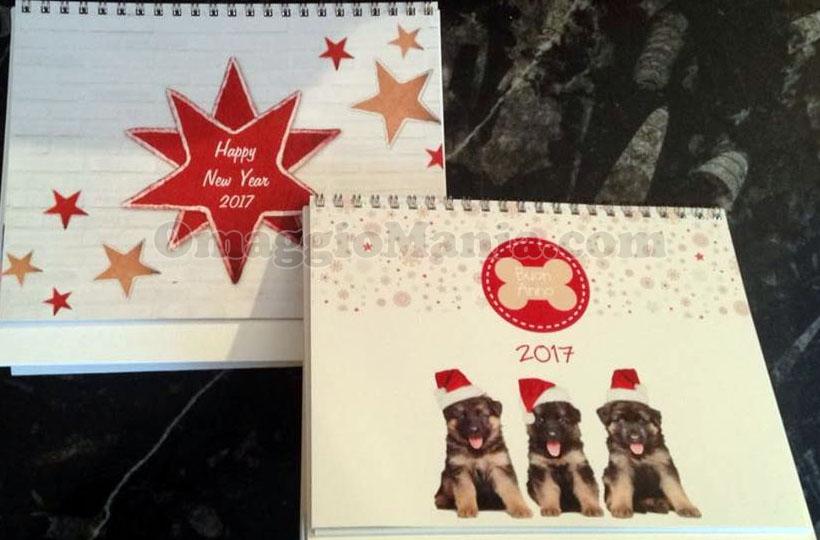 calendario 2017 personalizzato di Luca con Nivea Baby