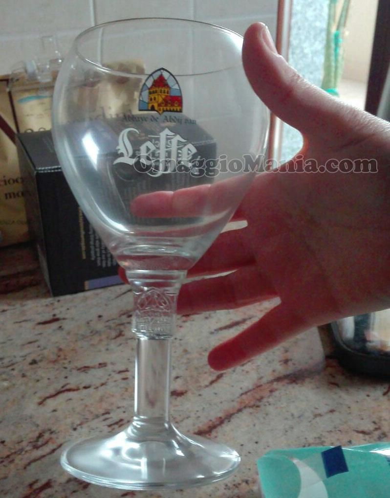 calice di birra Leffe di Antonella