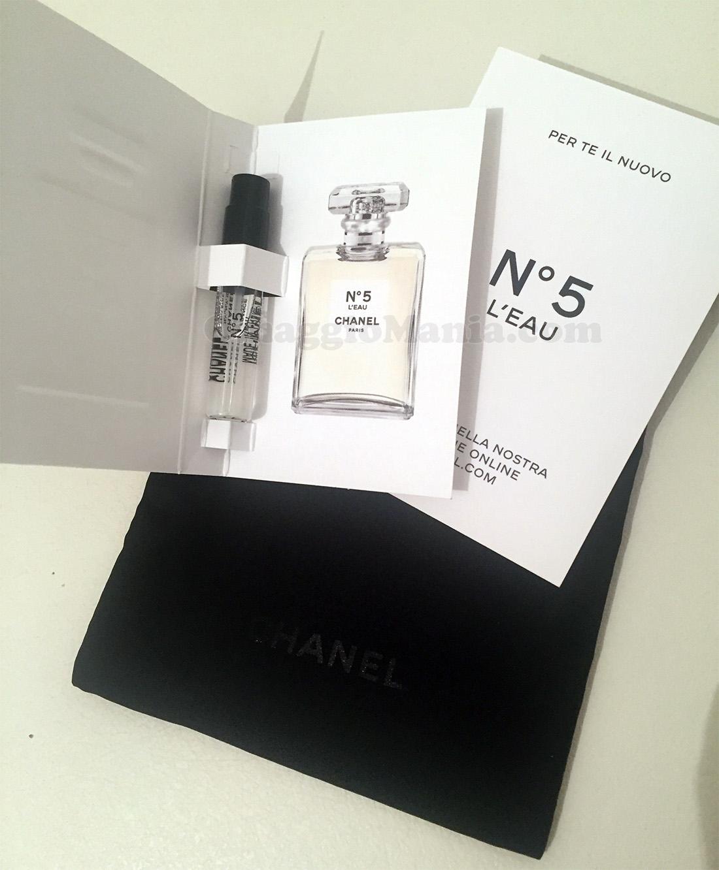 campione omaggio Chanel N°5 L'Eau di Turchina17