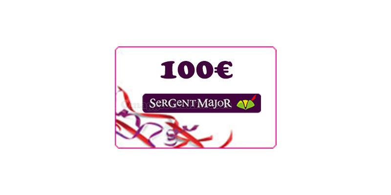 carta regalo Sergent Major 100 euro