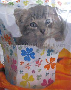 completo letto Bassetty Lucky Cat di Mery con Detto fra noi