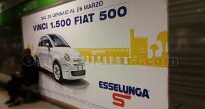 concorso Esselunga vinci 1500 Fiat 500
