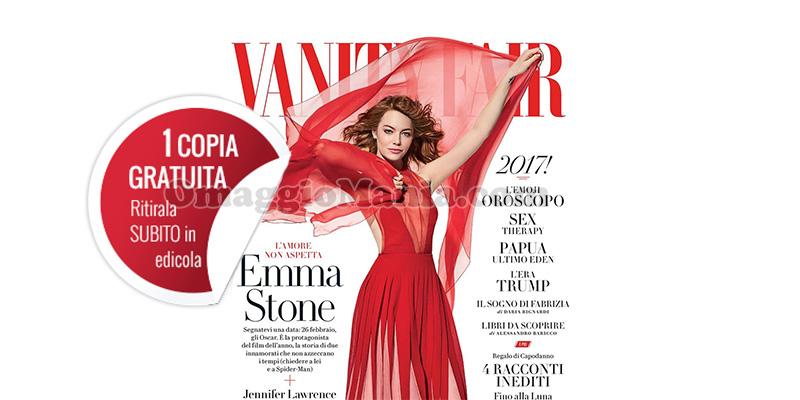 coupon copia omaggio Vanity Fair 1