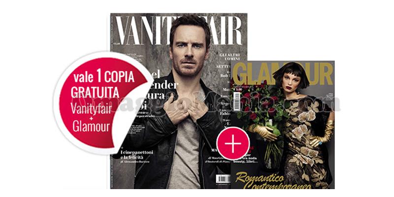 coupon omaggio Vanity Fair 2 e Glamour 295