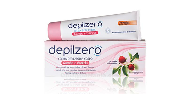 crema depilatoria Depilzero Gambe e Braccia