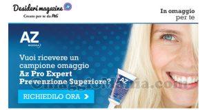 email Desideri Magazine campioni omaggio AZ Pro Expert Prevenzione Superiore