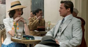film Allied Brad Pitt Marion Cotillard
