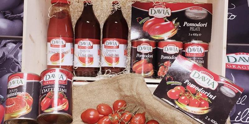 fornitura di prodotti Davia