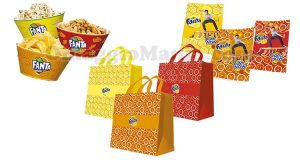 gadget Fanta 2017 shopping bag quaderno snack bowl