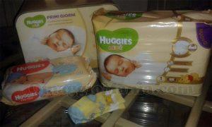kit Primi Giorni Huggies Bebè di Zuzuu