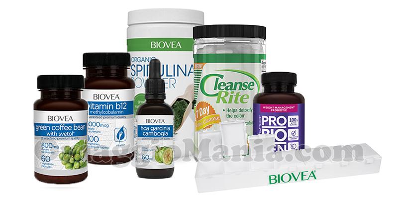 kit di prodotti Biovea gennaio 2017