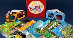 libri 3D McDonald's Happy Meal