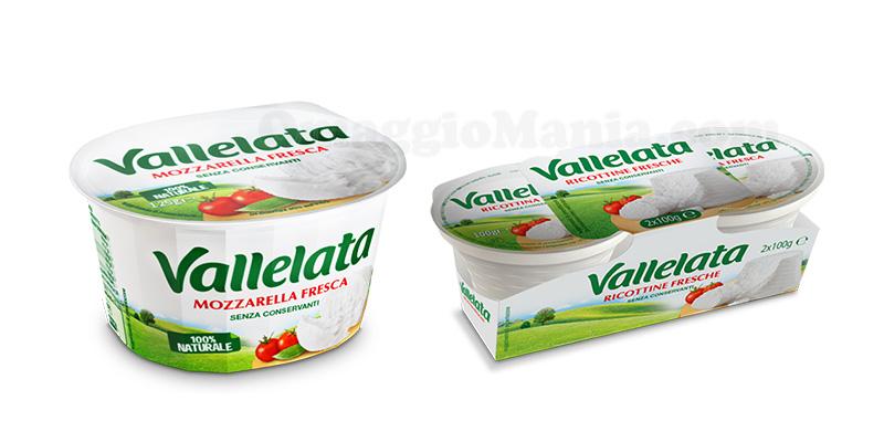 mozzarella e ricottine Vallelata