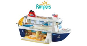 nave da crociera Playmobil con Pampers