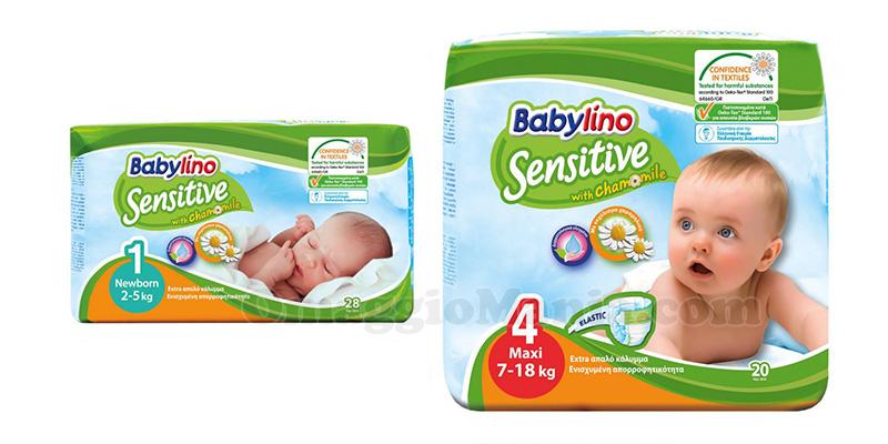 pannolini Babylino Sensitive