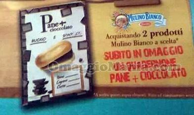 quadernone Pane + Cioccolato volantino di Nadia