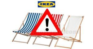 ritiro IKEA sdraio Mysingsö