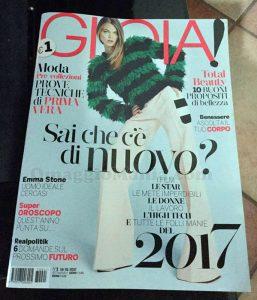 rivista Gioia 1 del 2017 di Silvia