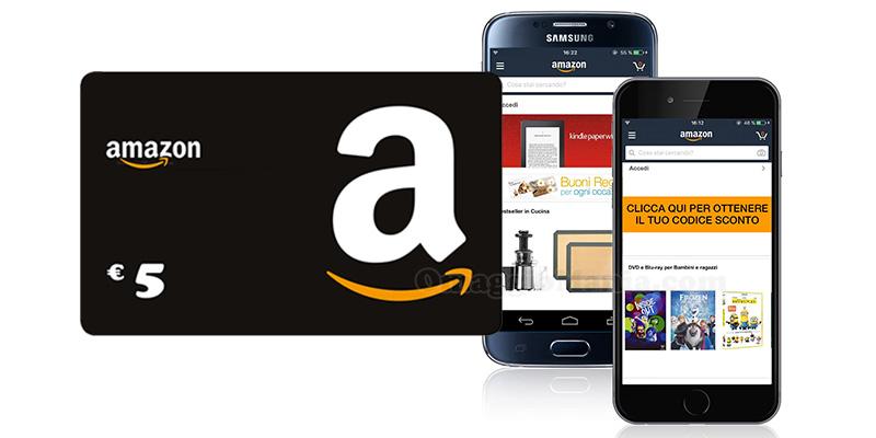 scarica App Amazon ricevi buono sconto
