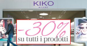 sconto 30% prodotti KIKO San Valentino