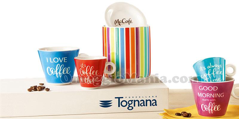 set McCafé McDonald's Tognana Porcellane