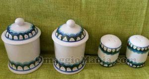 set ceramiche Cerreto Bio di Antonella
